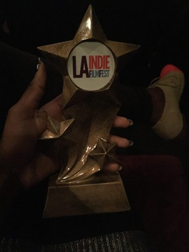 Screenwriting Award from the L.A. Indie Film Festival